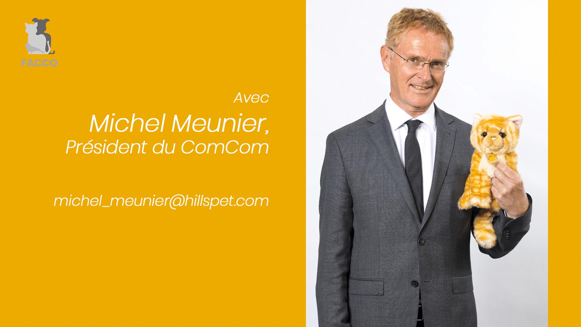 Les Vrais-Faux du Petfood N°6 avec Michel Meunier, président du ComCom de la FACCO