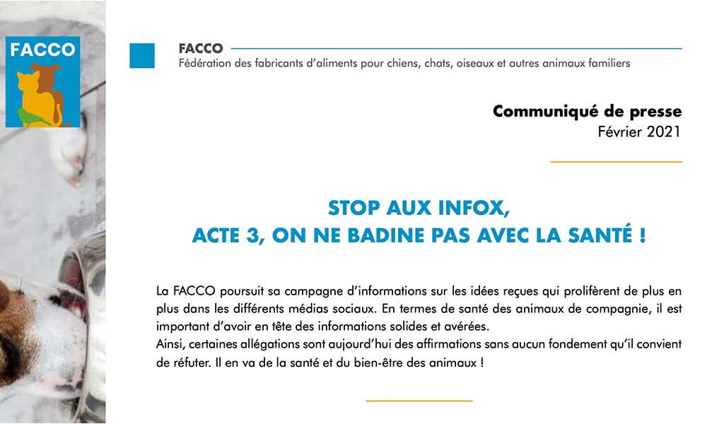 Stop aux Infox, acte 3