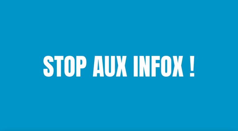 Stop aux Infox... ON NE BADINE PAS AVEC LA SANTÉ !