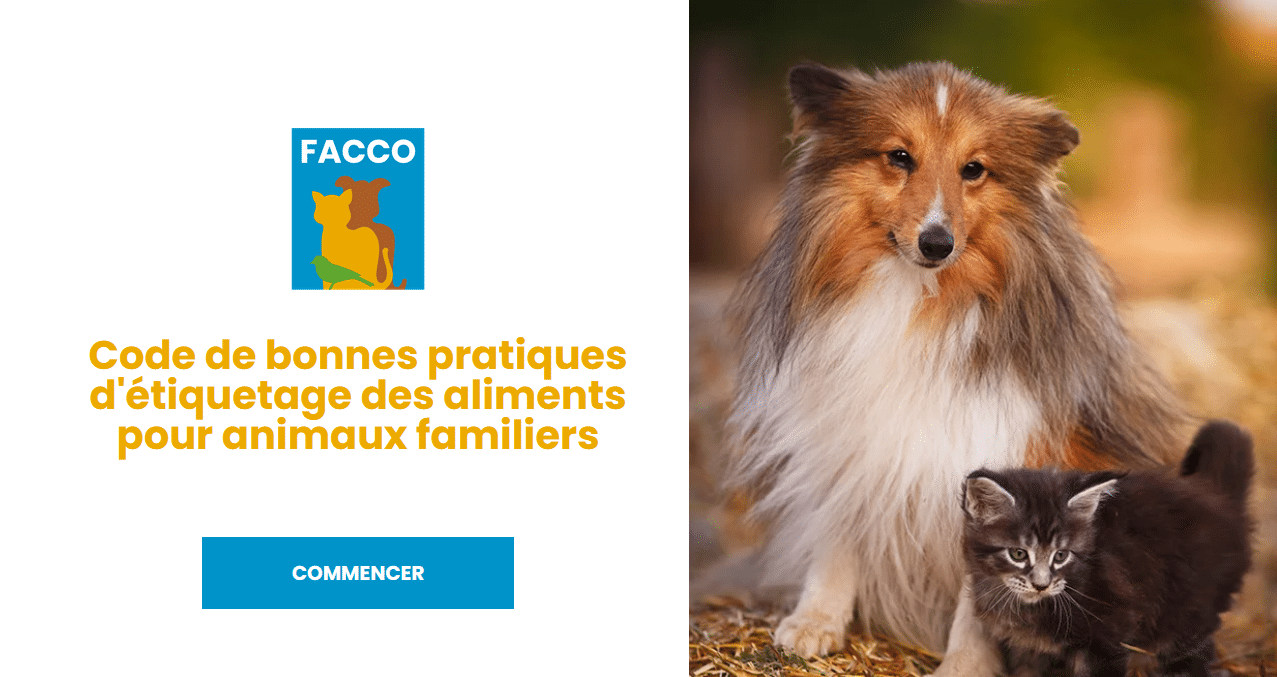 e-learning facco formation étiquetage petfood